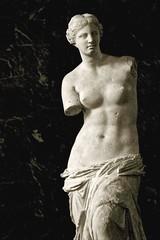 """Aphrodite, known as the """"Venus de Milo"""", II BC century, Ancient Greece / Paris, Louvre Museum (mike catalonian) Tags: hellenisticart fulllength female sculpture ancientgreece venusdemilo aphrodite"""