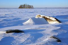Joensuu - Finland (Sami Niemelinen (instagram: santtujns)) Tags: joensuu suomi finland talvi winter landscape maisema lumi snow ice j pyhselk pohjois karjala north carelia jrvi lake