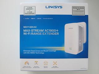 Linksys RE7000 Max-Stream AC1900 Wi-Fi Range Extender