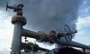 Krafla geothermal plant, Iceland (SteveInLeighton's Photos) Tags: kodachrome transparency iceland 1984 july steam geothermal pipe powerplant myvatn