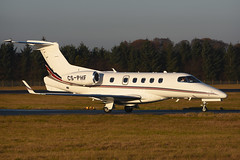 CS-PHF.EDI041216 (MarkP51) Tags: csphf embraer 505 phenom 300 netjets bizjet corporatejet edinburgh airport edi egph scotland aviation aircraft airplane plane image markp51 nikon d7100 d7200