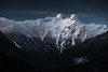 Snow Peaks (Atmospherics) Tags: thelions newsnow snowpeaks bclandscape mountainscapelate afternoon lightlow light atmospherics