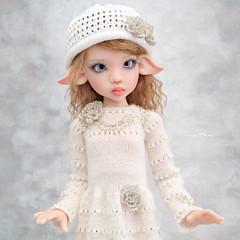 My beautiful Demelza  💖 (Maram Banu) Tags: doll bjd kayewiggs msd laryssa white silver handmade fairystyle marambanu