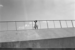 Untitled (giacomo tiberia) Tags: ilford contax blackandwhite memphis baby railing