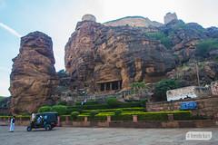Badami caves (Vinda Kare) Tags: india ancient karnataka badami caves vatapi bagalkot sandstone architecture
