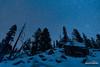 Silent Night (kevin-palmer) Tags: bighornnationalforest bighornmountains wyoming night sky astronomy astrophotography stars starry clear cold frigid blue winter solstic december dark pine trees nikond750 boulders rocks nordicskitrail tamron2470mmf28 snow snowy white astrometrydotnet:id=nova1870757 astrometrydotnet:status=failed