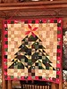 0721  Have yourself a merry little Christmas (jjjj56cp) Tags: quilt quilted quilting halfsquaretriangles christmastree wallhanging festive decor decoration holiday iphone jennypansing christmas christmasdecoration