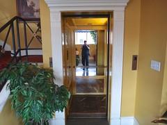 Inside the vintage Salem at Bristol (DieselDucy) Tags: lynch bristol antique elevator historic ascensor elevador lyfta lyftu merrilllynchmerrill