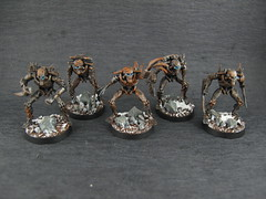 family photo flayed ones 1 (minigamerJ) Tags: dark miniatures jay grim citadel painted 40k elite scifi warhammer fi choice custom ones sci flayed necron necrons flayedones grimdark eonsofbattle