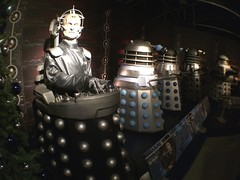 Dr Who Daleks & Davros (smaedli) Tags: apple wales technology cardiff objects sciencefiction drwho appleiphone5s