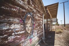 (Jeffrey Stroup) Tags: california travel streetart art abandoned yellow graffiti ruins desert decay urbandecay roadtrip forgotten urbanexploration traveling saltonsea ue urbex modernruins