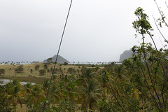 IMG_2093 (jaglazier) Tags: trees panorama plants clouds palms islands landscapes rocks waves january parks carribean cliffs palmtrees points beaches headlands bushes atlanticocean stlucia 11214 deciduoustrees 2014 vieuxfort saintlucia promentories copyright2014jamesaglazier