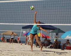 Gulf Shores Beach Volleyball Tournament (Garagewerks) Tags: woman beach girl sport female court sand all child gulf sony sigma tournament volleyball shores 50500mm views50 views100 views200 views250 views150 f4563 slta77v