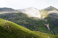 Bare mountain. (artanglerPD) Tags: sunlight mountain rocks bare range torridon