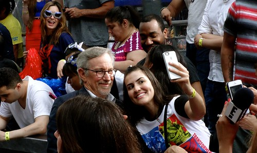 Steven Spielberg Selfie!!!