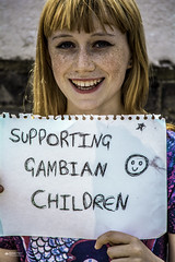 Urban Portrait #5 (Babel Fish Photography) Tags: red portrait urban london beauty smile children ginger nikon camden freckles supporting gambian nikond5200