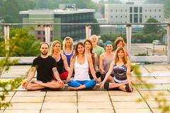 Find in Fondren Yoga Summer 2014 (Tate Nations) Tags: rooftop yoga mississippi jackson cover fondrencorner finditinfondren