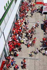 WDW2014 (Juanito Moore ( John Moore )) Tags: girls red italy sunshine italia rally motorcycles moore ducati circuit bikers juanito misano wdw2014 worldducatiweekend2014