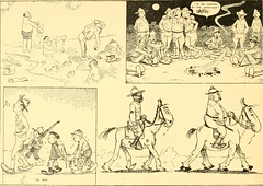 "Image from page 11 of ""Training for the trenches; a book of humorous cartoons on a serious subject"" (1917)"
