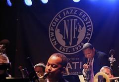 Wynton Marsalis at the Newport Jazz Festival 2014, August 1-3, Newport, Rhode Island
