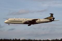 XV240.RafLeuchars260995copy (MarkP51) Tags: aircraft aviation military raf leuchars nimrod royalairforce xv240