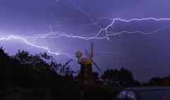 Lightning over Dereham Windmill, Norfolk (Chris Bainbridge1) Tags: storm lightning derehamwindmill