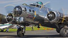 My kind of girl ! (LASCAR35) Tags: vintage wwii b17 bomber usaf caf prop sthubert sentimentaljourney palne cyhu 4483514 n9323z