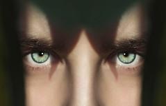 green eyes (studioimagonis) Tags: shadow woman green beautiful beauty face closeup eyes looking skin headshot greeneyes youngwoman oneperson partof