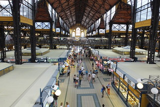Inside Budapest Great Market Hall