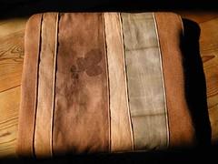 housse tablette brun a tirette