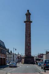 Pharos Lighthouse (Clog dancing fiddler) Tags: light sea lighthouse bay coast maritime beacon morecambe navigation fleetwood