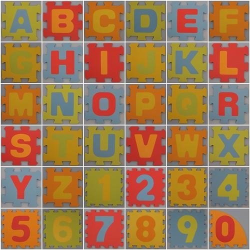 Foam Play Mat smooth alphabet