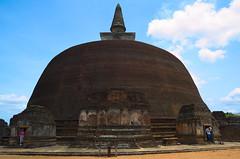 Giant old stupa