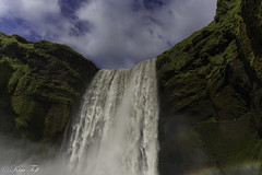 Skogafoss (Toftus Photography) Tags: water river island waterfall iceland south skogafoss