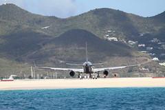 IMG_2901 (toddherman007) Tags: ocean sea mountain beach st plane airplane fly flying unsafe idiot airport dangerous martin princess air prince off take maho julianna