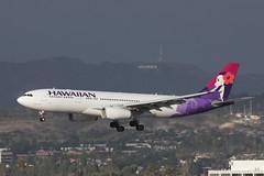 N393HA | Hawaiian | Airbus A330-243 | LAX (max_LH_450) Tags: airport airbus hawaiian lax a330 klax