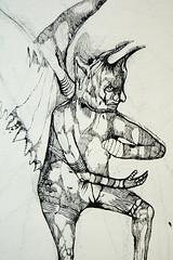 Josef Zlamal - Work in progress (studio_zlamal) Tags: wien black paris berlin london art ink dark artist drawing contemporaryart medieval horror devil alfredkubin tuz albrechtdurer umeni lucascranach kresba albrechtaltdorfer umelec zlamal josefzlamal soucasnevytvarneumeni