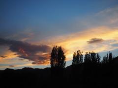 Sunset-Leh-Ladakh-India (mikemellinger) Tags: city sunset sun mountain mountains beauty set landscape scenery hills kashmir setting leh himalayas ladakh jammu jammuandkashmir