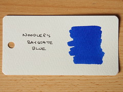 Noodler's Baystate Blue - Word Card