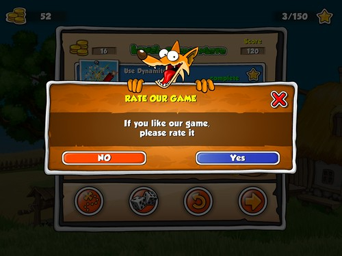 Duck Destroyer Rate Us: screenshots, UI