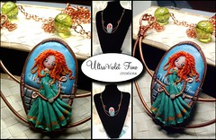 Polymer Clay -Merida (The Brave) (Crystarbor creations) Tags: anna movie frozen wire princess handmade crafts chibi craft disney fimo fanart clay merida bow kawaii copper arrows brave celtic middle ultraviolet rapunzel ages creations polymer premo ribelle