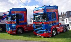 W & R Logan of Haddington, East Lothian Scania R580 SN14JDX (andyflyer) Tags: truck lorry scania haddington eastlothian haulage truckfest hgv scaniar580 truckfestscotland wrlogan truckfestscotland2014 sn14jdx