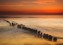 Buhnenteil (spityHH) Tags: sunset beach strand northsea sylt nordsee hitech ndfilter polfilter buhne rantum