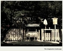 P2919  Hibara-jinja (The imaginative landscape) Tags: japan shrine nara yamato   olympuspenep3 ealabo  theimaginativelandscape fuwarysuke