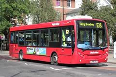 Metroline Travel . DE997 LK09ENJ . Haven Green , Ealing , London . Saturday 09th-August-2014 . (AndrewHA's) Tags: travel bus london de route 200 alexander dennis dart ealing e8 enviro 997 tfl adl metroline lk09enj