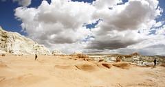 Wild West (velo_city) Tags: sky clouds landscape utah ut scenery rocks desert scenic roadtrip bigsky wildwest 2014