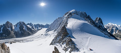 Grands Montets (jamiefg) Tags: panorama france mountains alps nikon climbing frenchalps 1424 d810
