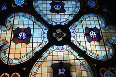 Abbotsford Convent of the Good Shepherd Chapel (Lesley A Butler) Tags: interiors churches australia stainedglass victoria abbotsford abbotsfordconvent 2014813