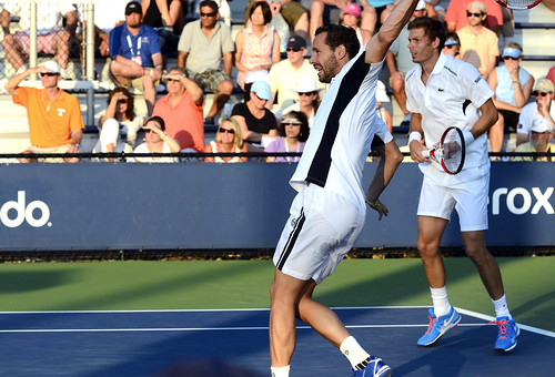 Michael Llodra - 2014 US Open (Tennis) - Tournament - Michael Llodra and Nicolas Mahut
