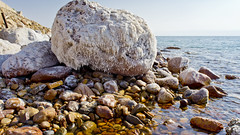 Rock with Salt, Dead Sea, Jordan